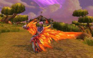 Buy boost Flametalon of Alysrazor mount