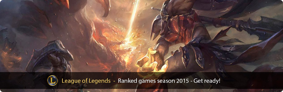 Ranked games in League of Legends