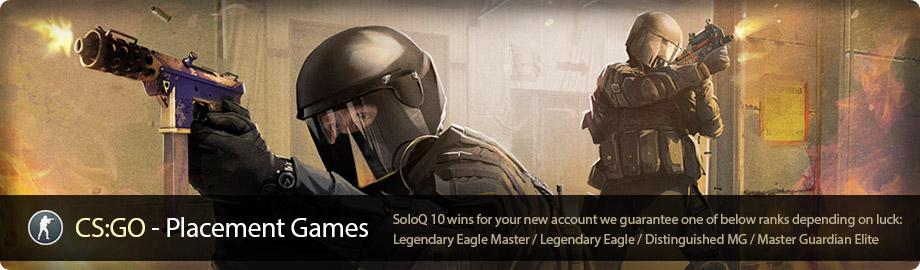 Buy CS:GO Placement Games