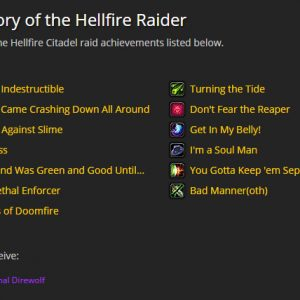 Glory of the Hellfire Raider scr2