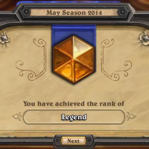 hearthstone legend rank