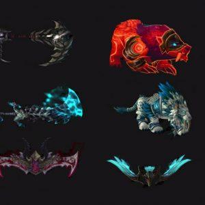 Glory of the Legion Hero - Artifact Skins