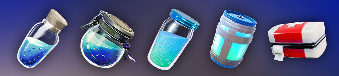Fortnite Armor and Health Items
