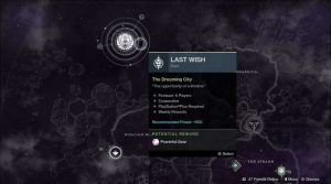 Buy Last Wish Raid boost