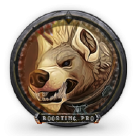 Buy Alabaster-Hyena mount boost
