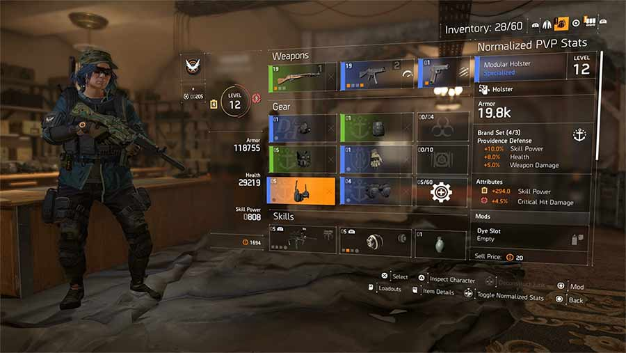 Division 2 Charecter Leveling