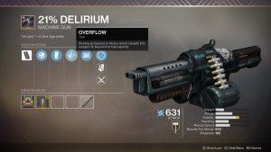 BuyDelirium machine gun boost