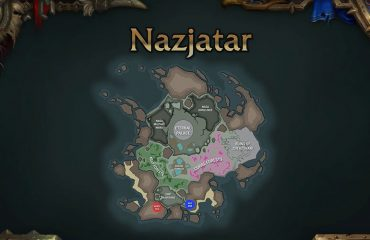 WoW Nazjatar Location map