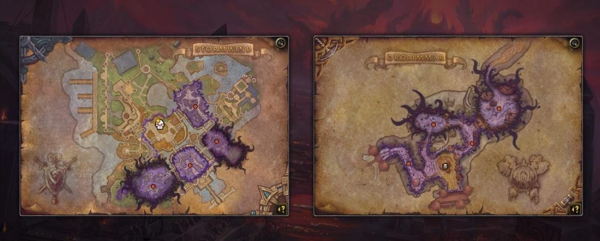 Horrific Visions of Orgrimmar and Stormwind