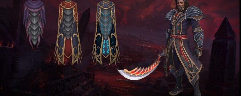 Legendary Cloak Ashjrakamas, Shrould of Resolve