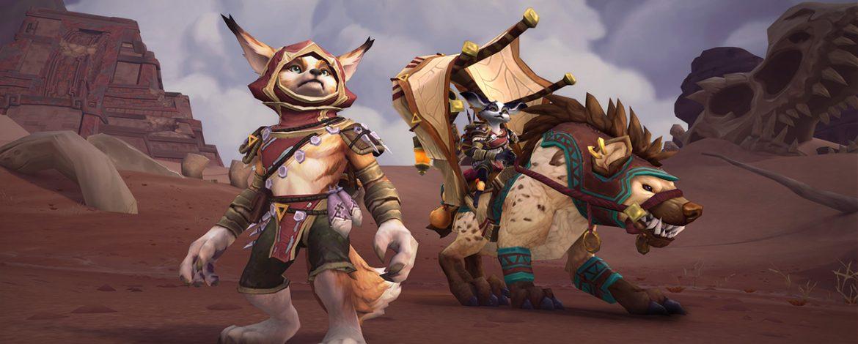 New Horde Allied Race: Vulpera